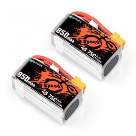 Аккумуляторы BetaFPV 850mAh 4S 75C Lipo Battery (2шт) XT30