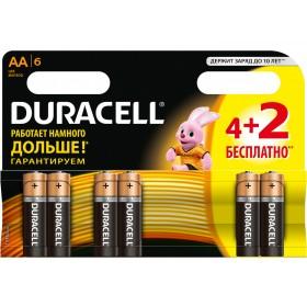 Батарейка DURACELL LR06 MN1500 1x (4 + 2) шт.
