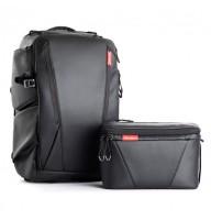 Рюкзак ONEMO и Сумка на плечо TWILIGHT BLACK PGYTECH