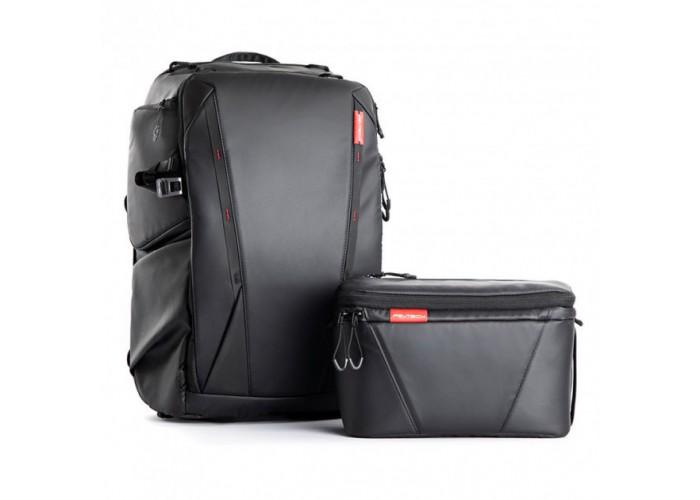 Рюкзак для фотографа ONEMO и Сумка на плечо TWILIGHT BLACK PGYTECH