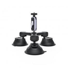 Мощное крепление на присоске с тремя рычагами для экшн-камеры PGYTECH