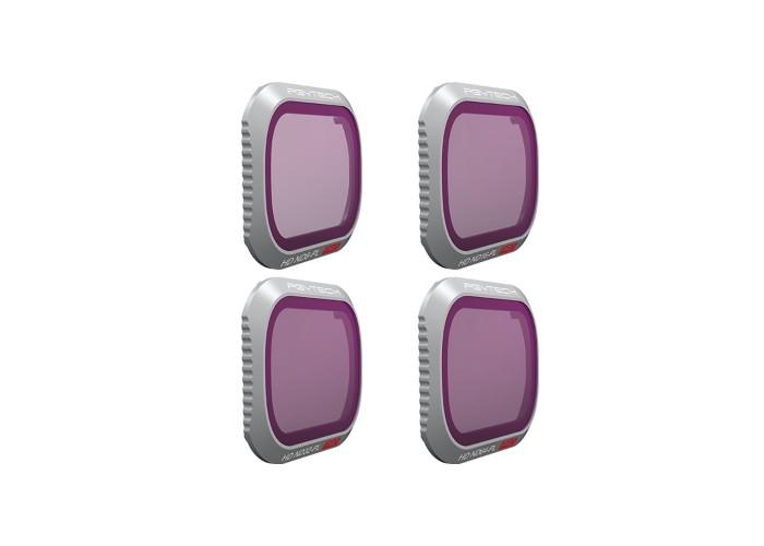 Фильтры для MAVIC 2 PRO - ND/PL SET (Professional) (ND8/PL ND16/PL ND32/PL ND64/PL)