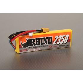 Rhino 2350mAh 3S 11.1v 20C Lipoly Pack
