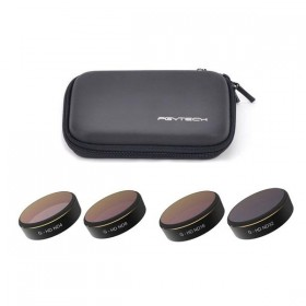 Комплект фильтров (ND4/ND8/ND16/ND32+кейс) для DJI Phantom 4 Pro PGYTECH