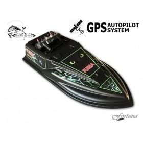 Прикормочный кораблик Фурия с GPS автопилотом Maxi (100 водоемов, 9+1)