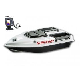 Карповый кораблик Camarad V3 + Lucky 918 White