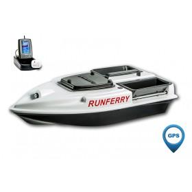 Карповый кораблик Camarad V3 GPS + Toslon TF500 White