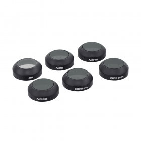 Комплект фильтров для DJI Mavic (CP, ND8, ND16, ND32, ND8/PL, ND16/PL)